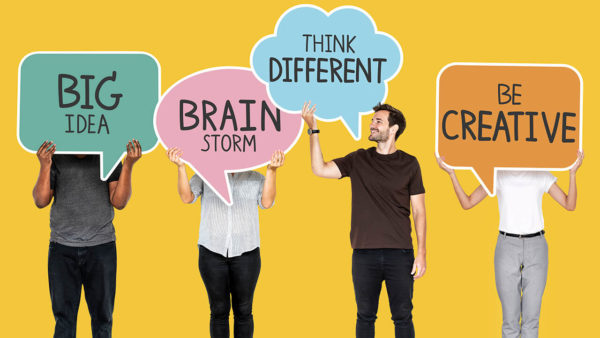 4 Pessoas com mensagens sobre como inovar de verdade