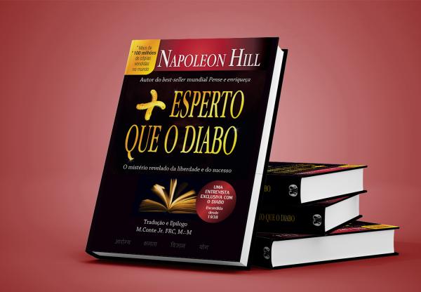 Livro Mais esperto que o Diabo, de Napoleon Hill